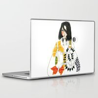 soldier Laptop & iPad Skins featuring Soldier by Dunia Design