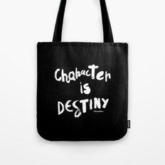 Character Is Destiny - Heraclitus Tote Bag