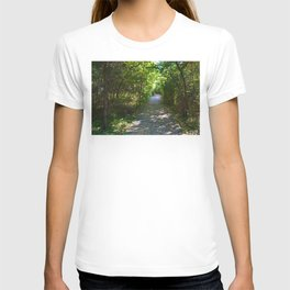 Mt Robson as seen from Kinney lake in the Canadian Rockies T-shirt
