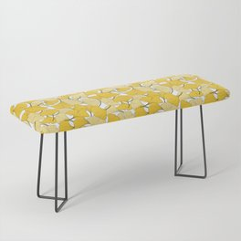 ginkgo leaves (yellow) Bench