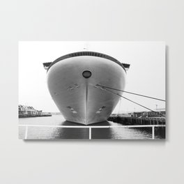 Anchored Metal Print