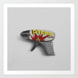 Atomic Zapper Art Print