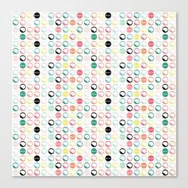 Brain Dots Canvas Print
