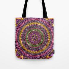 Hippie mandala 45 Tote Bag