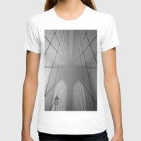 brooklyn bridge T-shirts featuring Brooklyn Bridge by Gold Street Photography