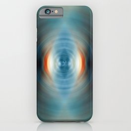 Vitality - Energy Abstract Art by Sharon Cummings iPhone Case