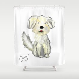 Personalized Art - Jager Shower Curtain