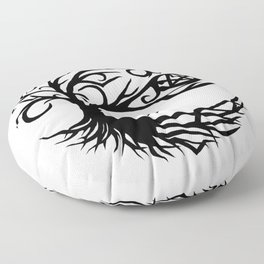 Pentacle Tree Floor Pillow
