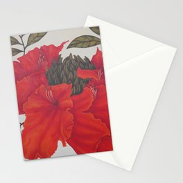 Spathodea Campanulata Stationery Cards