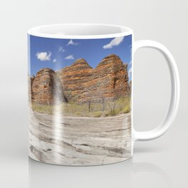 Dry riverbed in Purnululu National Park, Western Australia Coffee Mug
