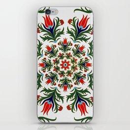 Turkish tulip - Ottoman tile 1 iPhone Skin