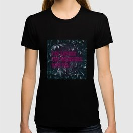 The Lovers The Dreamers and Me. - Neon Writing T-shirt