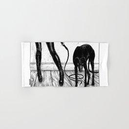 asc 887 - Le chien (Queue choisir VII) Hand & Bath Towel