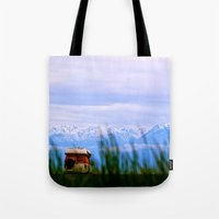 dallas Tote Bags featuring Dallas Road by Tosha Lobsinger is my Photographer