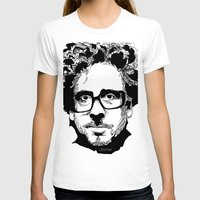 tim burton T-shirts featuring Tim Burton in colors by burro by BURRO
