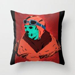 Red Baron Throw Pillow