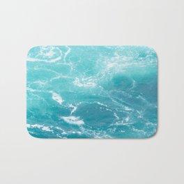 Turquoise Turbulence Bath Mat