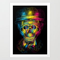 Worked to Death Art Print