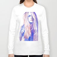 cara Long Sleeve T-shirts featuring Cara by Ava Carmen