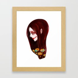 OVERLY ATTACHED GIRLFRIEND Framed Art Print