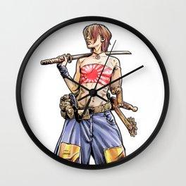 Kendo Warrior Wall Clock