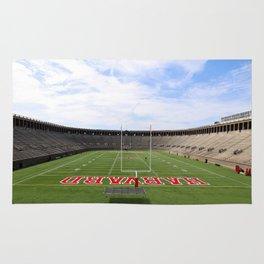 Harvard Stadium Rug