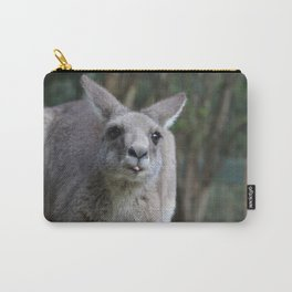 Kangaroo Blepping Carry-All Pouch