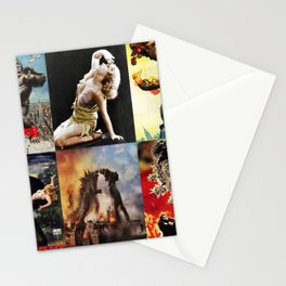 Godzilla vs King Kong, King Kong, poster, Art Stationery Cards