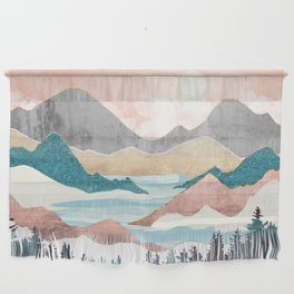 Lake Sunrise Wall Hanging