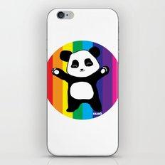 Panda Hugs iPhone & iPod Skin