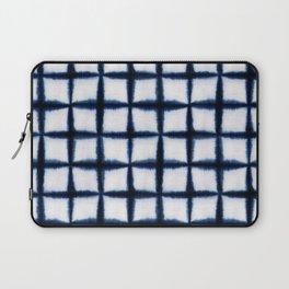 Shibori Squares Laptop Sleeve