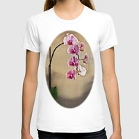 orchid T-shirts featuring Orchid by Misspeden