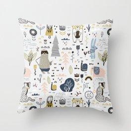 Pattern 009 Throw Pillow