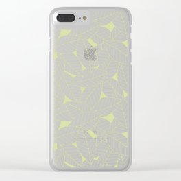 Leaves in Fern Clear iPhone Case
