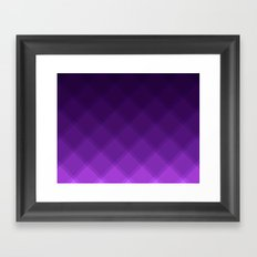 Grape Tile Pattern Framed Art Print