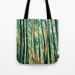 tree of paint Tote Bag