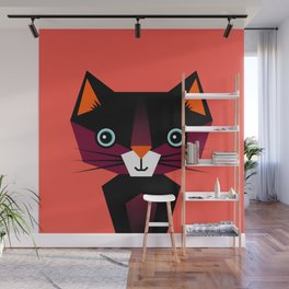 Kids Room Animals Cat – Nursery art for boys and girls Wall Mural