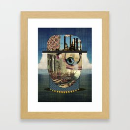 Waveman Framed Art Print