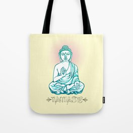 Buddha Namaste Tote Bag