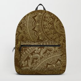 Mandala Royal - Cinnamon & Gold Backpack