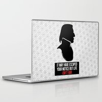 snape Laptop & iPad Skins featuring Harry Potter Severus Snape by raeuberstochter