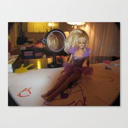 Barbie Fashion Shoot Canvas Print