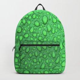 Green Raindrops HDR Backpack