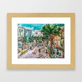 King Street Living Framed Art Print