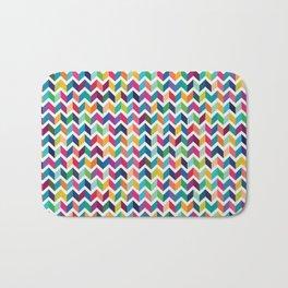 art colour lines color new artist fun mixed pattern sweet cover case skin iphone ipad wall pillow ra Bath Mat