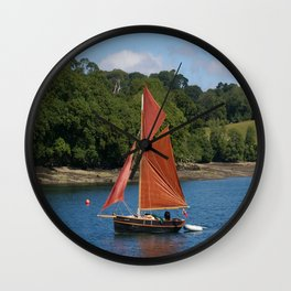 Red Sails Wall Clock