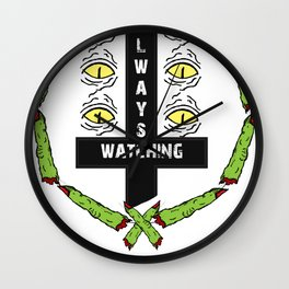 SEVERED WATCH Wall Clock