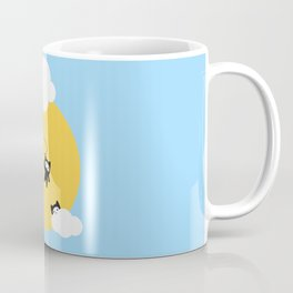 Ninja cats in the sky Coffee Mug