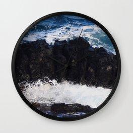 Rocky Waters Wall Clock