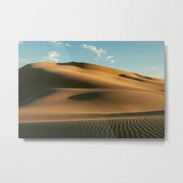 Gobi Desert, Mongolia Metal Print